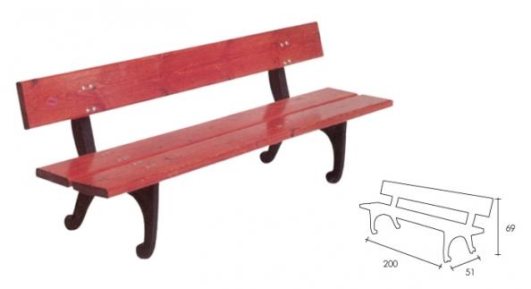 Banco ergonomico de madera banco mobiliario urbano for Mobiliario urbano caracteristicas