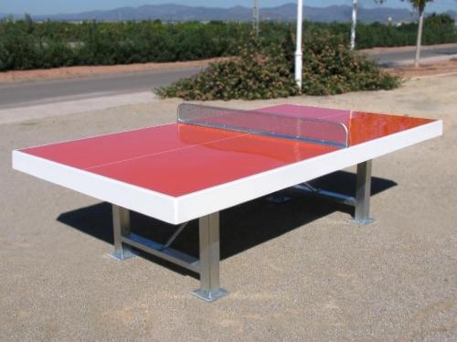 Mesas de tenis mesa antivandálicas de exterior