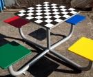 mesa de ajedrez exterior