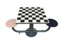 Mesa de ajedrez antivandalica 2 asientos