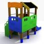 Casita infantil para parques