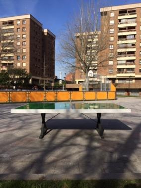 Mesa de ping-pong exterior