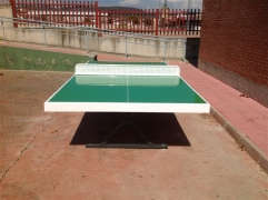 Mesa de ping pong antivandalica de exterior