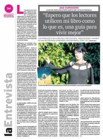 Entrevista a Ana Carracedo en el dominical NORDESIA
