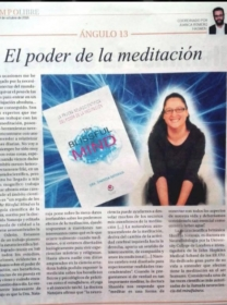 Reseña de The Blissful Mind en el dominical de Diario de Avisos y Ángulo 13