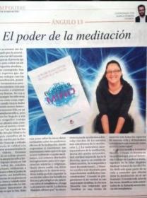 Reseña de The Blissful Mind en el dominical de Diario de Avisos y Ángulo 13