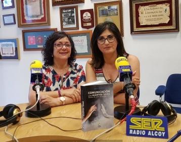 El Mundo de las Trece Lunas en Radio Alcoy Cadena Ser entrevista a Lluís Pastor