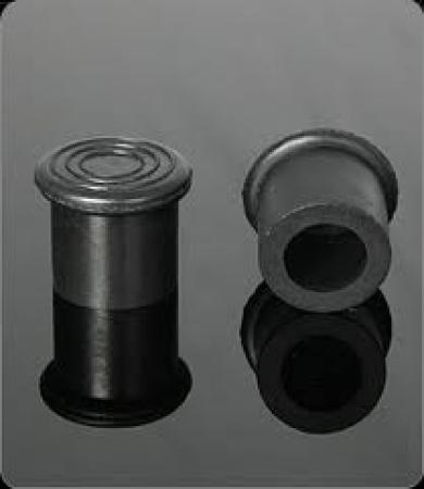 Remate o pata de goma para tubo nombre de la empresa for Conteras de goma