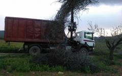 Camión contenedor Dolmen Movimientos