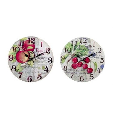 Reloj fruta