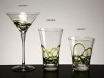 Copa cocktail ceralaca verde