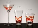 Copa cocktail ceralaca naranja