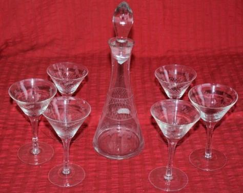 Licor set cristal