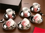 SET CAFE VIÑA ROJA X6