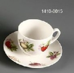 SET TAZAS REDONDA X6 STRAWBERRY