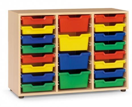 Armario cubetero escolar mobiliario para colegios for Mobiliario escolar medidas