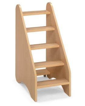 escalera para cambiador mobiliario para colegios