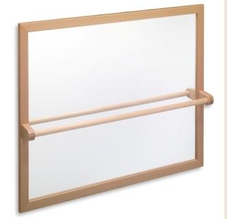 Espejo irrompible para colegios mobiliario para colegios for Espejo y barra montessori