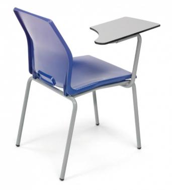 Silla escolar slim pala mobiliario para colegios for Silla escolar ergonomica