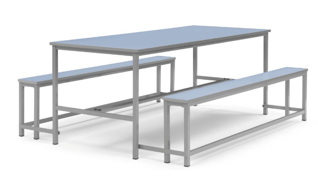 mesa de comedor duo mobiliario para colegios mobiliario