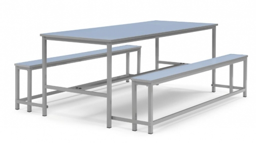 Mesa de comedor DUO - Mobiliario para colegios, mobiliario ...