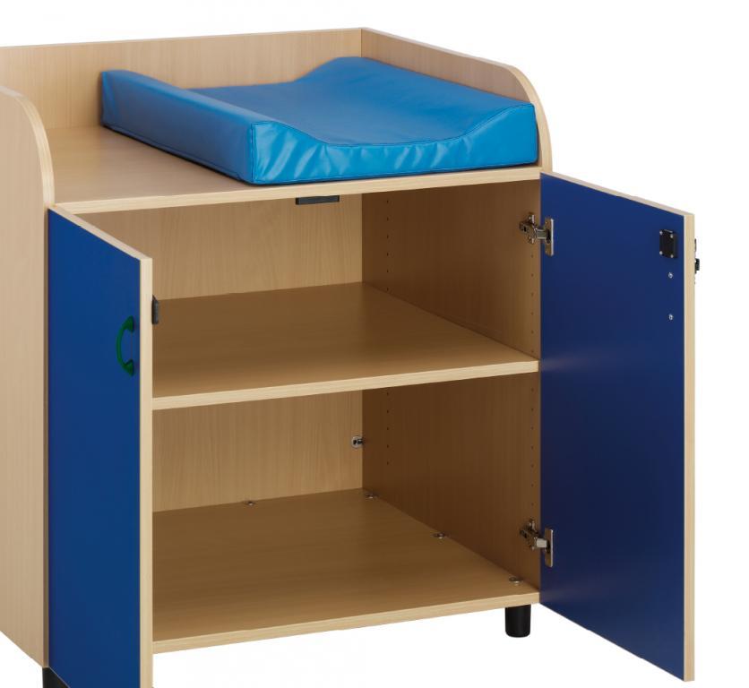Cambiador para guarderias mobiliario para colegios for Mobiliario para bebes