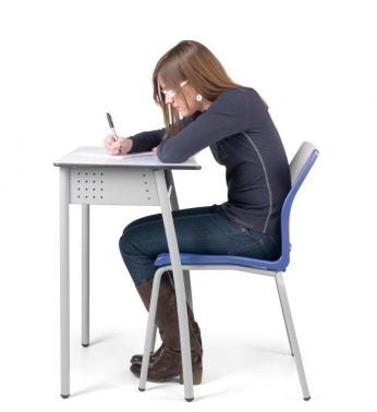 Silla escolar slim mobiliario para colegios mobiliario for Silla escolar ergonomica