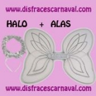 Alas Angel Gasa + Halo