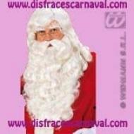 Juego peluca + Barba Larga Papa Noel / Melchor Lux