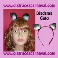 Diadema Gato Marabu