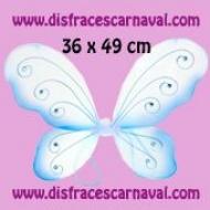 Alas Mariposa Azul 36x49