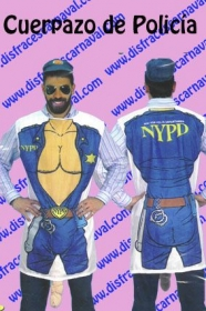 Camiseta policia pito extra