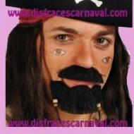 Bigote + Perilla Pirata