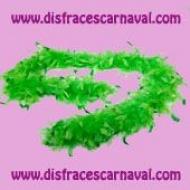 Boa Plumas Bicolor verde 45gr