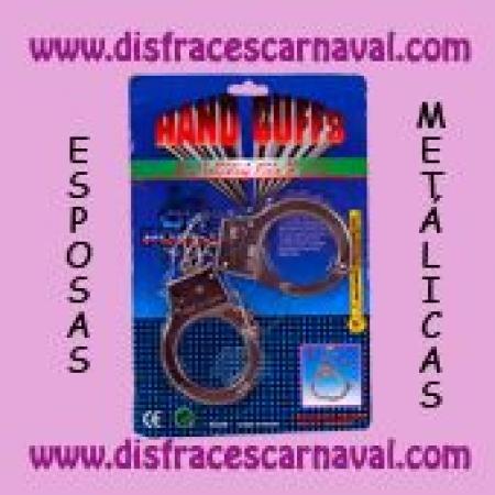 Esposas metal con llave