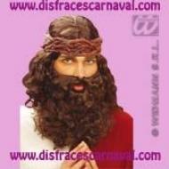 peluca jesucristo