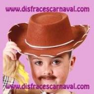 gorro vaquero woody toy story