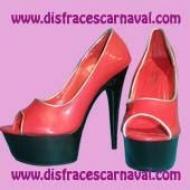 Peep Toe Rojo 39