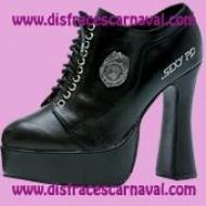 Zapato policia Abotinado ng