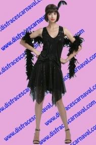 Vestido Años 20 Negro