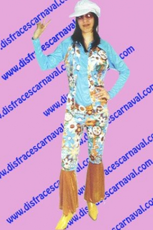 Hippie Azul Mujer