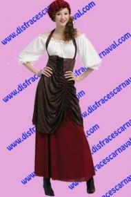 disfraz campesina medieval tabernera