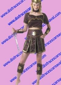 Gladiadora Marrón y Oro
