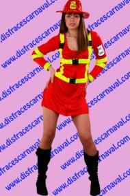disfraz bombera