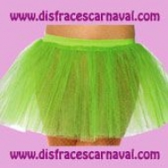 tutu verde neon