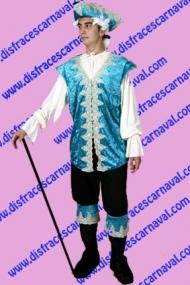 disfraz pirata barroco