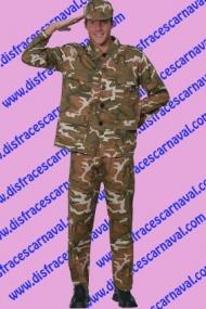 disfraz soldado de comando