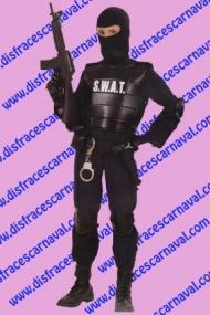 disfraz policia swat