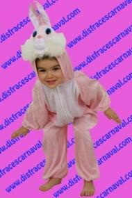 Conejo enterizo rosa