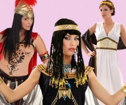 Griegas, Romanas y Egipcias